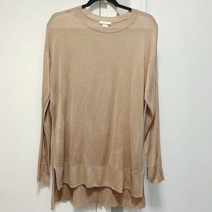 H&M Semi-sheer Long Sleeved Tunic